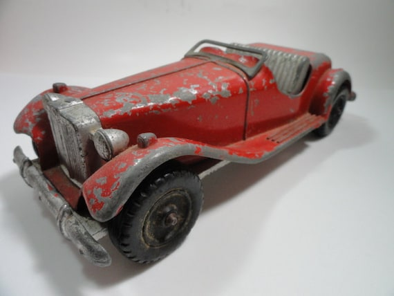 Hubley Kiddie Toy Metal Roadster 485