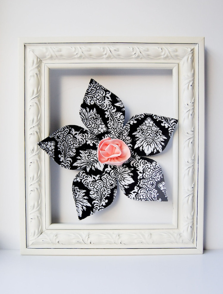 3d Wall Art For Contemporary Homes: SALE. Fabric Wall Flower. 3d Wall Art. Wall By