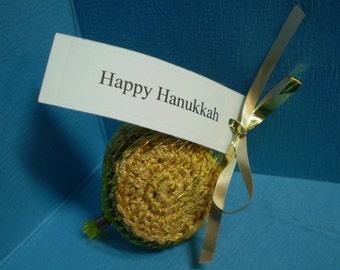 Hanukkah Gelt - Chanukah - Crochet - Toy - Chocolate