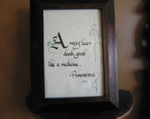 Custom Calligraphy, Calligraphy Custom, Made to Order, Calligraphy