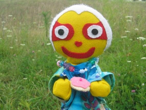 Reserved for Bhaktin-Kirtana: Subhadra Puppet