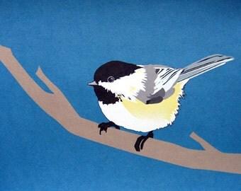 Chickadee 8x10 Art Print