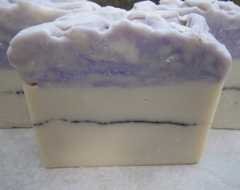 Black Patchouly Organic Shea Butter Handcrafted Artisan Soap *Essential Oil * Rustic * Bohemian *