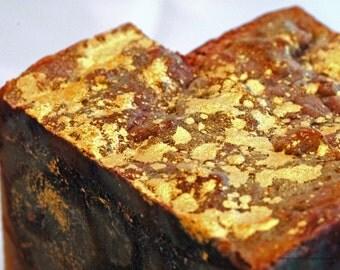 Temple Incense Organic Shea Gilded Handcrafted Artisan Soap * Rustic * Bohemian * Incense * Resinous *