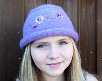 Felted Rolled Brim Hat