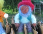 Needle Felted Garden Gnomes - customizable colors