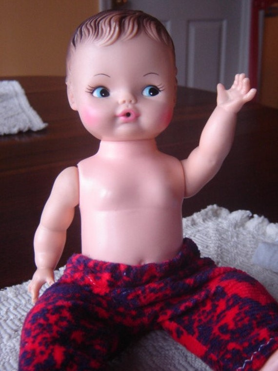 Vintage 1974 Horsman Drink And Wet Baby Doll