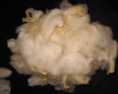 raw washed wool