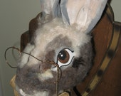 Ooak Primitive Jacob Bunny doll Tmap A must See