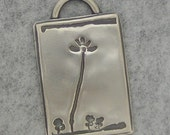 Your Child's Artwork Made into a Silver Pendant or Charm - Made to order