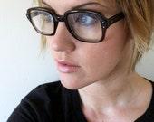 50's Chocolate Buddy Holly Eyeglasses
