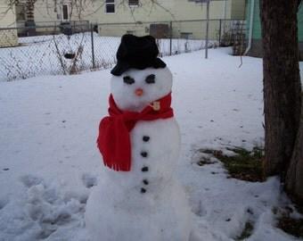 Build A Snowman kit make your own snowman