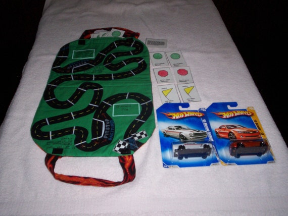 Hot Wheels Travel Race Track Game