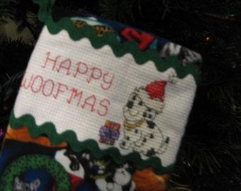 Now On Sale   Doggie Christmas Stocking