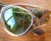 Vintage 1950s rhinestone decorated glasses frames