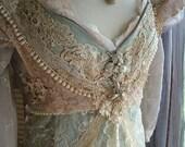 Cinderella Breathe Ever After WEDDING DRESS creation bridal gown original handmade dress