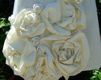 SALE 50 PERCENT OFF Handmade Original Vintage Inspired Wedding Dress Short and Sassy