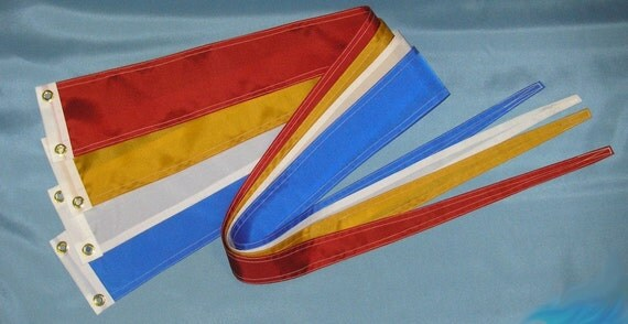 Nautical Boat Banner Streamer Flag CHOOSE YOUR COLOR 5 ft
