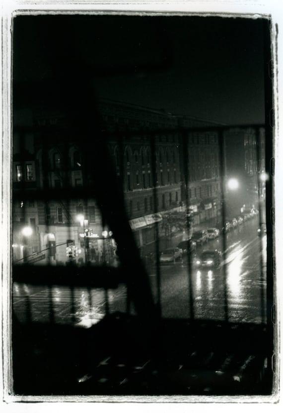 Rain in Harlem