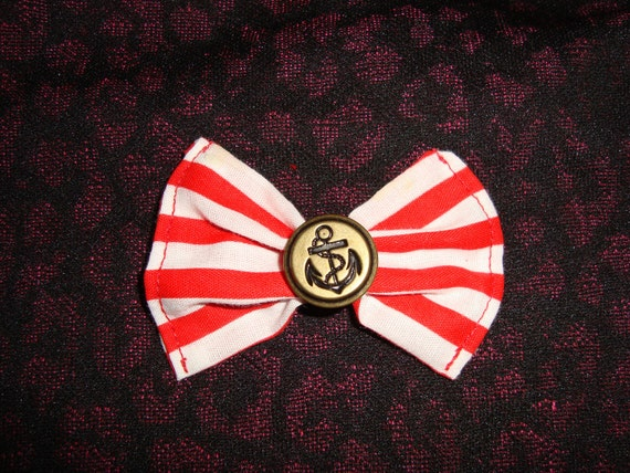 DIY Striped Anchor Bow Or CHOOSE ONE