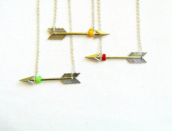 Hunter's Arrow Necklace - Artemis - Your choice - LAST ONE