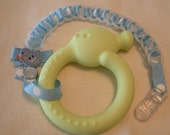 Baby Chain TEETHER-Baby Blue