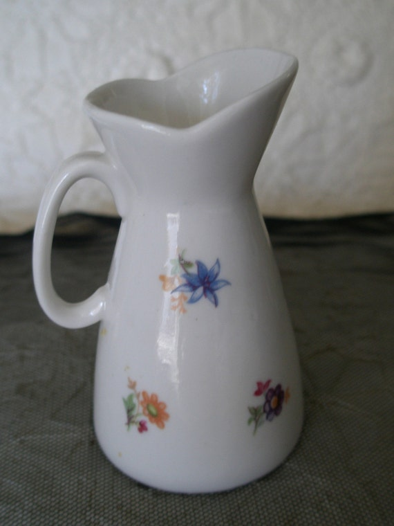 Antique German Porcelain Creamer