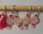 Peppermint Candy Stitch Markers