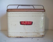 50s Therma-A-Chest Metal Cooler Ice Chest by Knapp-Monarch