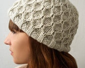 Donatella Hat - PDF KNITTING PATTERN
