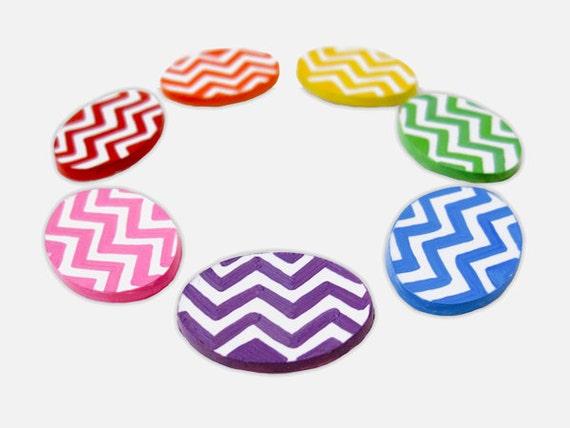 Chevron Magnets - Cute Magnets, Kawaii Magnet, Magnet Gift, Rainbow Magnet