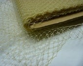 1 Yard 9 inches wide Russian/French veiling -- ECRU
