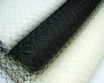 Weekly  Promos -- Any color of 3 Yards 18 inches wide Russian/French Veiling