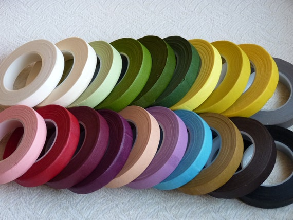 Reserve for stylesbym only -- 6 Rolls of floral tape -- 30 Yards/per roll (You Pick The Color)