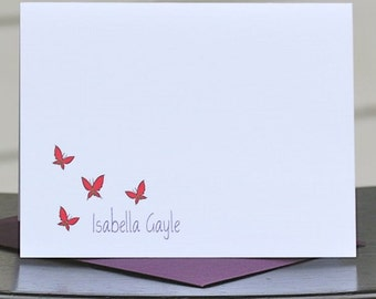 Butterfly Note Cards, Butterfly, Butterflies, Mother's Day Gifts, Thank You Notes, Butterfly Thank You Card, Mother's Day