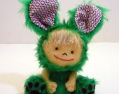 Tabetha in a bunny costume