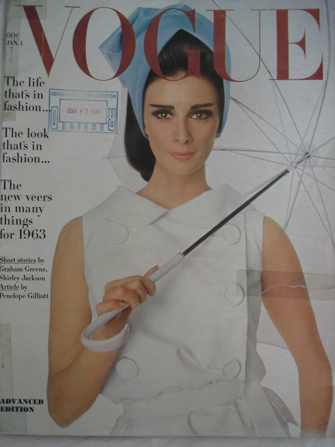 vintage fashion magazine 1960 s vogue january 1 1963
