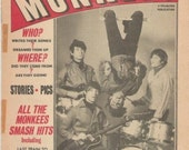 Vintage Exclusive Monkees Hit Songs Fan Magazine from 1967