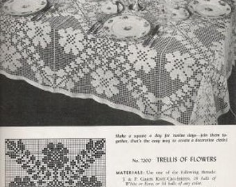 Three Doilie Crochet Books from the 1940's