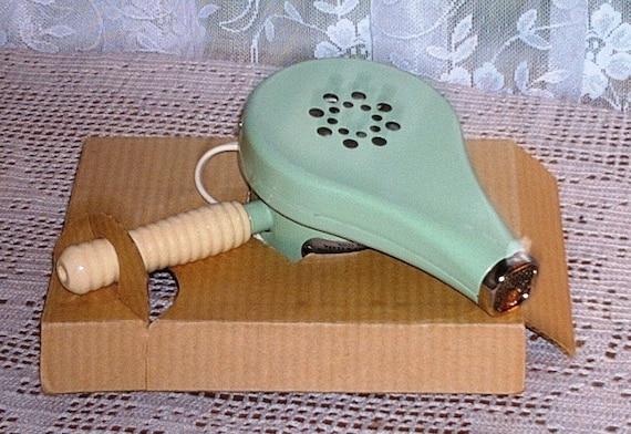 Pristine Vintage Hand Held Blow Hair Dryer