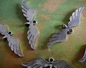 10 - Antique Silver - Angel Wing Links  (ASAWLL)