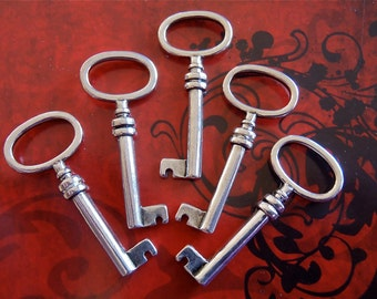 5 - Antique Silver - Keys  (ASK)