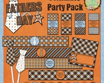 Fathers Day Printable Party Pack