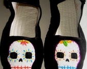 Skull Day of the Dead Maryjane shoes