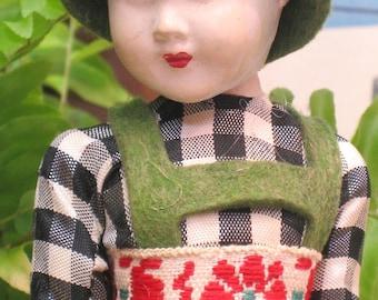 Doll , Plastic Doll , Carnival Doll , Toy , German Doll , Small Doll , Female Doll , Dolls , Vintage Toys , Souvenir Doll