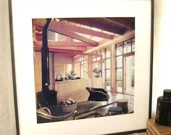 Vintage Fine Art Photography, Interior Design Photo, Framed, Large Format, Interior Photo, Architectural, Design, Fine Art, Vintage Art