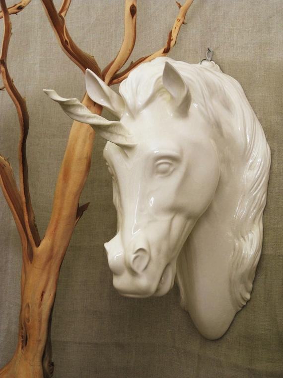 Large Ceramic Unicorn- Vintage Penthouse