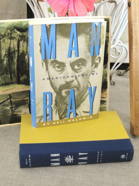 Vintage Art Book Man Ray - Classic Vintage