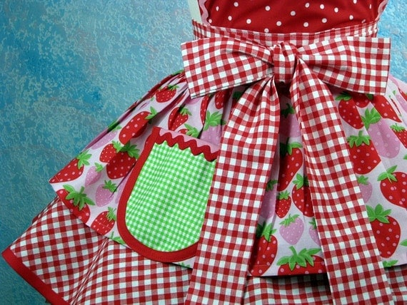 Strawberry Shortcake Baby Doll Apron