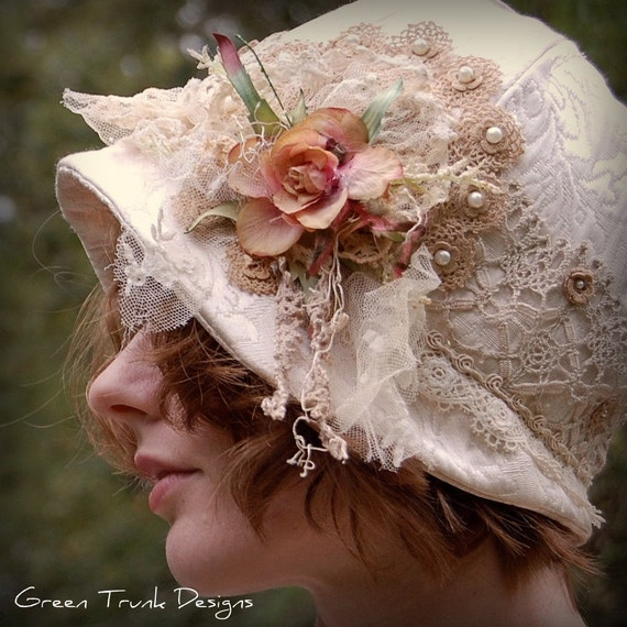 Heirloom Cloche Hat - MOE Project Runway